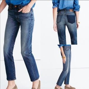 Madewell Cruiser Straight Jeans Shadow Pocket 27